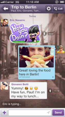 イギリス発のスマホ向けメッセージングアプリ「Viber」が2億ユーザーを突破! PC/Mac版も公開2