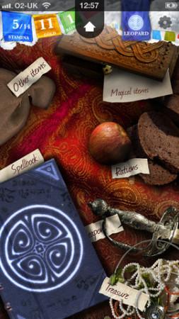 ゲームブックの古典「ソーサリー」がiOSアプリ化 第一部「魔法使いの丘」を配信中3