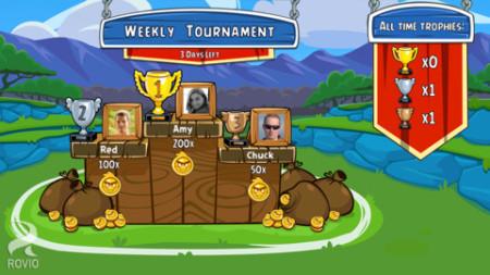 ソーシャル要素も楽しめる! Rovio、スマホ版「Angry Birds Friends」をリリース2