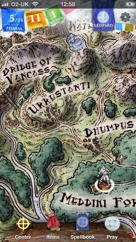 ゲームブックの古典「ソーサリー」がiOSアプリ化 第一部「魔法使いの丘」を配信中1