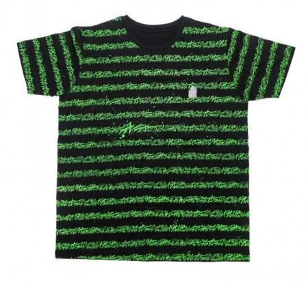 バンダイ、「ジョジョの奇妙な冒険」のAR対応Tシャツ「オラオラボーダーT」を販売中1