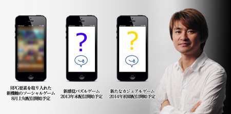 モブキャスト、ゲームクリエイター水口哲也氏がプロデュースがプロデュースするスマホ向けネイティブゲームアプリ3本の開発に着手