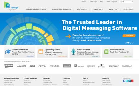 メッセージングシステム提供のMessage Systems、Facebookとのパートナーシップを継続