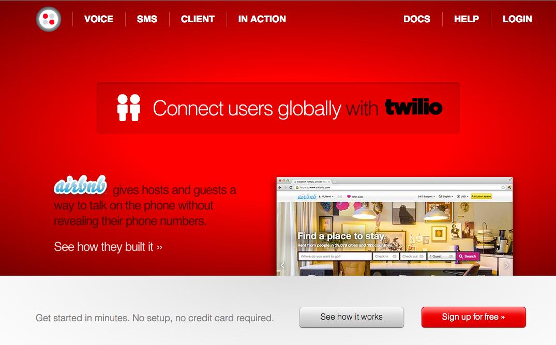 ボイスメッセージ&SMSサービスのTwilioが7000万ドル資金調達 今後はスマホ向けメッセージングアプリをリリース予定