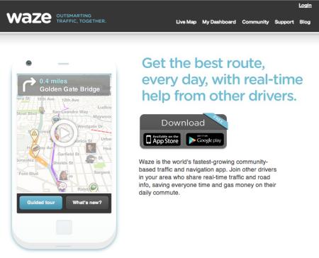 Google、イスラエル発のスマホ向け交通情報ナビアプリ「Waze」を買収