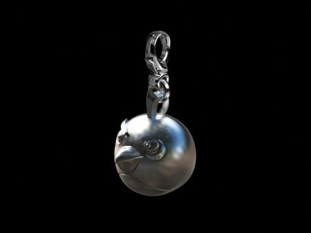 これはシブい! シルバーアクセブランドのPrimesmith、Angry Birdsをモチーフにしたシルバーアクセを販売1