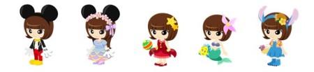 ディズニーとDeNA、スマホ版Mobageにて新作ソーシャルゲーム「ディズニーはらぺこレストラン」を提供開始4