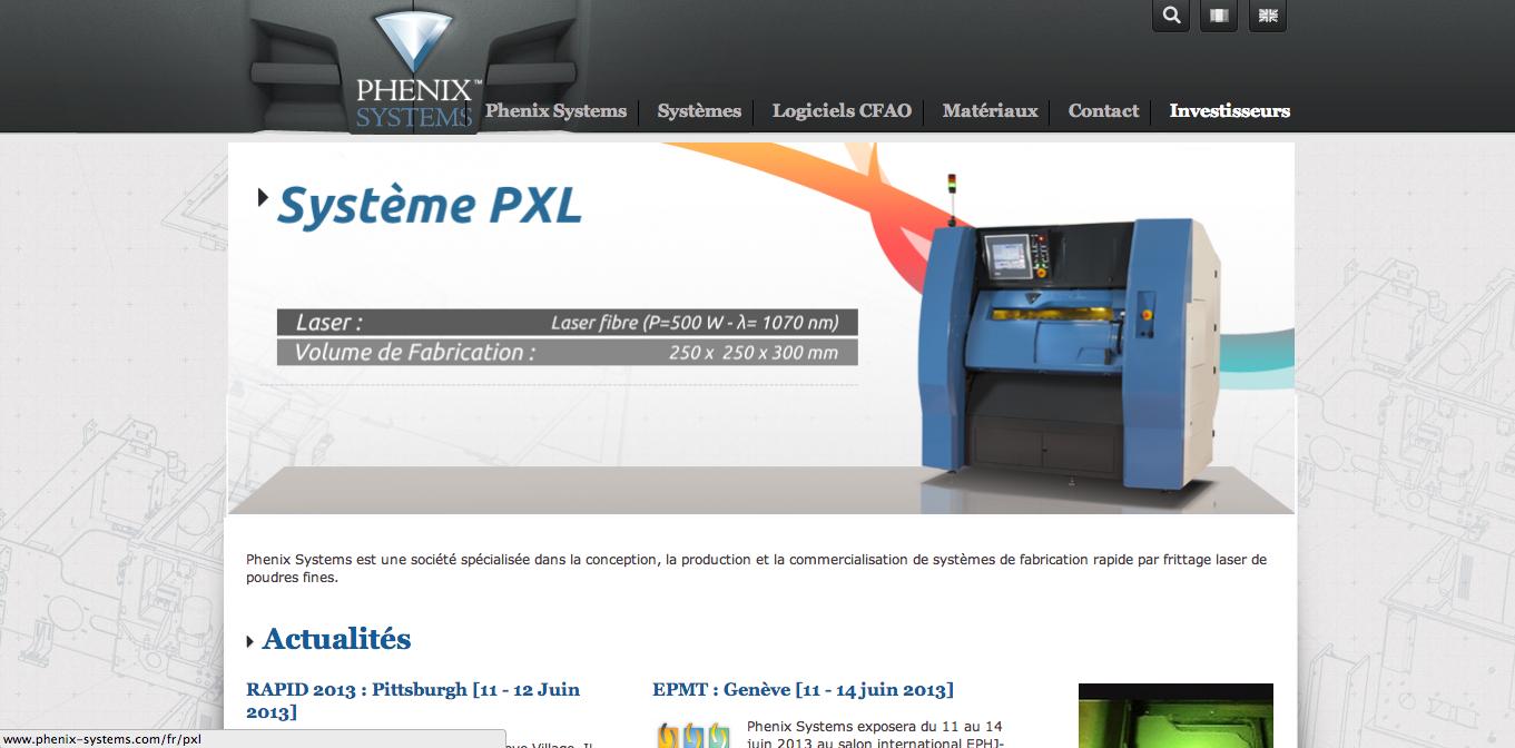 3Dプリンタメーカーの3D Systems、フランスの金属積層造形3Dプリンタを開発するPhenix Systemsを買収