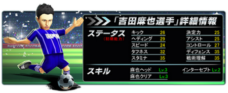 サイバード、iOS向けサッカークラブ育成ゲーム「バーコードフットボーラー」にて再び吉田麻也選手とコラボ2