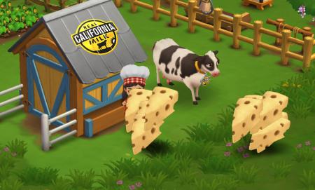 米乳製品ブランドの「REAL CALIFORNIA MILK」、今度はZyngaの農業ソーシャルゲーム「FarmVille2」とコラボ2
