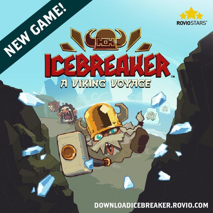 Rovio、パブリッシング事業の第1弾タイトル「Icebreaker: A Viking Voyage」を提供開始 氷を斬って道を作るアクションゲーム1