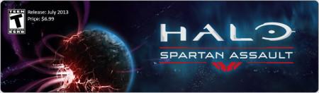 あのHaloがスマホゲーム化! シリーズ最新作「Halo: Spartan Assault」7月リリース!
