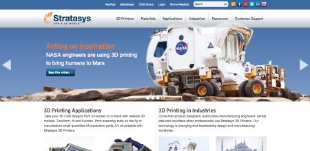 業務用3Dプリンタ販売のStratasys、個人向けデスクトップ3Dプリンタ販売のMakerBotを買収