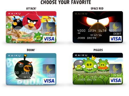 米Kaiku Finance、Angry Birdsのクレジットカード&デビットカードを発行3