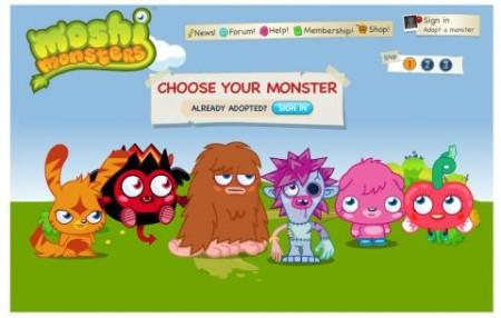 イギリスの子供向け仮想空間「Moshi Monsters」、遂にアニメ化!1