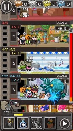 ガンホー、スマホ向けタワー育成ゲームアプリ「CrazyTower」を韓国でも提供開始2