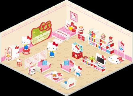 LINEの仮想空間「LINE Play」にハローキティが登場! 2
