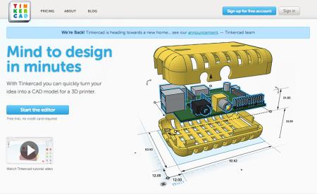 Autodesk、Webブラウザ上で利用できる3DCGツール「Tinkercad」を買収