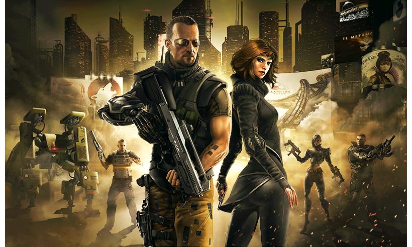 「Deus Ex」もモバイル向けタイトルに! スクエニ、シリーズ最新作「Deus Ex: The Fall」をiOS向けに今夏リリース!1