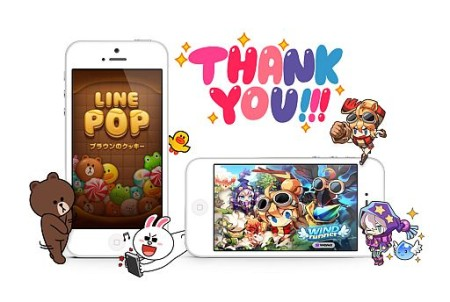 LINEゲームの「LINE POP」が2000万ダウンロード突破! 6/22よりテレビCMも放送開始3