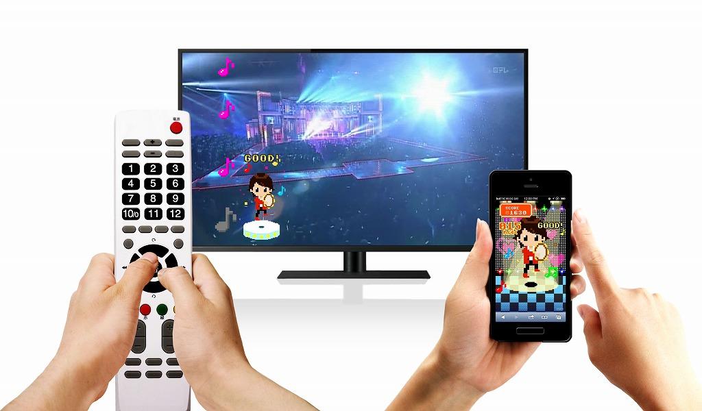 チームラボ、嵐の生放送中に視聴者が同時に音ゲーをプレイできる「嵐 Feat. You」を開発