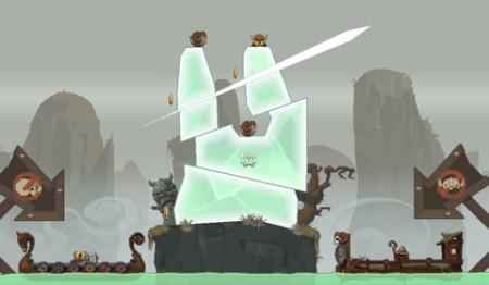 Rovio、パブリッシング事業の第1弾タイトル「Icebreaker: A Viking Voyage」を提供開始 氷を斬って道を作るアクションゲーム2