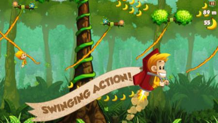 またフィンランドから凄いスマホゲームが---物理アクションゲーム「Benji Bananas」、リリースから3ヶ月で1500万ダウンロードを突破2