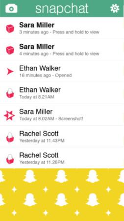 写真がすぐ消えるスマホ向け写真共有&メッセージングアプリ「Snapchat」、1億ドルを調達3