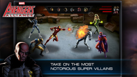 Playdom、マーベル・コミックのヒーロー達が登場するソーシャルゲーム「Marvel: Avengers Alliance」のiOS版をリリース3