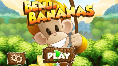 またフィンランドから凄いスマホゲームが---物理アクションゲーム「Benji Bananas」、リリースから3ヶ月で1500万ダウンロードを突破1