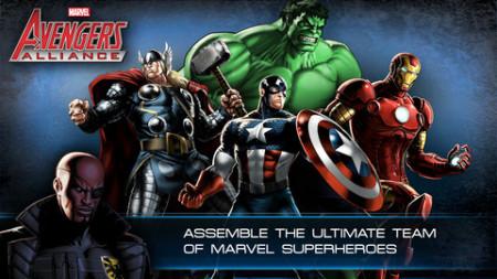 Playdom、マーベル・コミックのヒーロー達が登場するソーシャルゲーム「Marvel: Avengers Alliance」のiOS版をリリース1