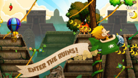 またフィンランドから凄いスマホゲームが---物理アクションゲーム「Benji Bananas」、リリースから3ヶ月で1500万ダウンロードを突破3