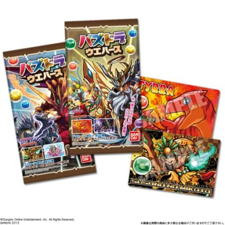 パズドラがお菓子になる! バンダイ、6/18より「パズドラ ウエハース」を発売 封入されているカードは全30種!