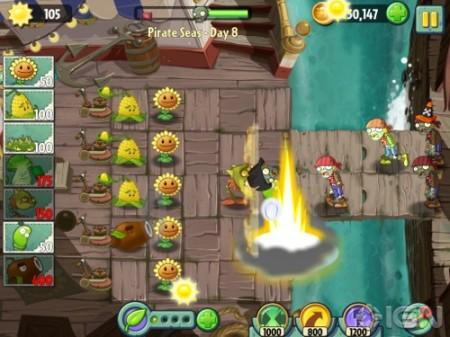PopCap Gamesの大ヒットシリーズ最新作「Plants Vs. Zombies 2」、iOS向けに7/18リリース決定2