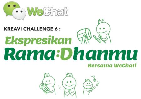 中国のメッセージングアプリ「WeChat」、ラマダンに合わせてインドネシアにてスタンプデザインコンテストを開催