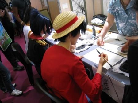 I【Japan Expoレポート】武道、折り紙、風呂敷、茶道、水墨画etc...、ワークショップで日本文化を体験11