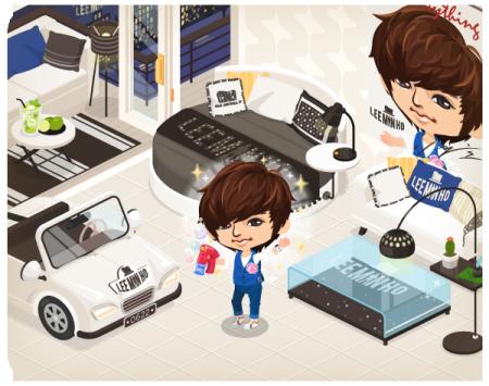 「LINE」の仮想空間アプリ「LINE Play」に韓流スター「イ・ミンホ」の公式アバターが登場2