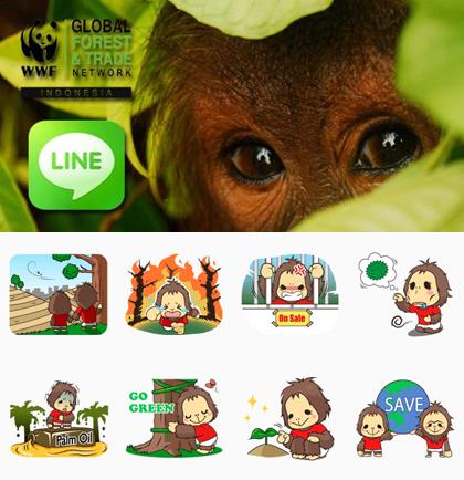 LINE、2億ユーザー突破を記念しスタンプの無料配信を開始2