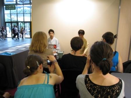【Japan Expoレポート】武道、折り紙、風呂敷、茶道、水墨画etc...、ワークショップで日本文化を体験14