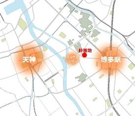 LINEが福岡社屋を建設 低層階に図書館など公共施設を設置し無料Wi-Fiも提供2