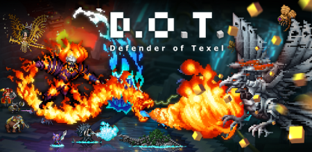 DeNA、欧米版Mobageにて人気のドット絵RPG「D.O.T. Defender of Texel」を日本のMobageでも提供開始1