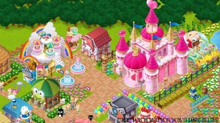 ニフティとサンリオウェーブ、スマホ向け遊園地運営ゲーム「Hello Kitty World」のAndroid版をリリース2