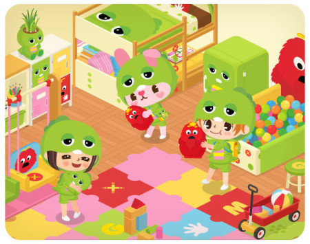 「LINE」の仮想空間アプリ「LINE Play」にガチャピンが登場!3