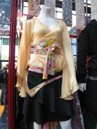 【Japan Expoレポート】着物と和柄を世界へ! フランスベースの日仏ファッションブランド「AOI Clothing」7