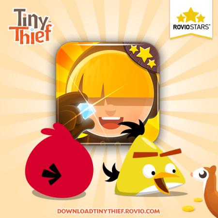 Rovio、パブリッシング事業の第2弾タイトル「Tiny Thief」をリリース1