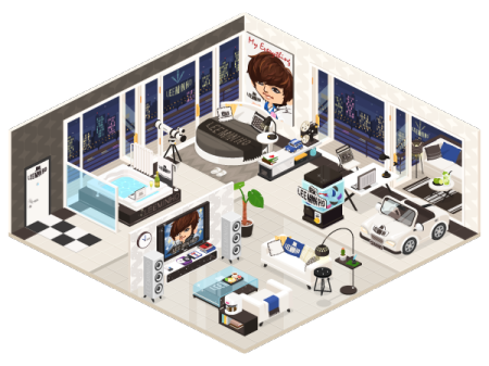 「LINE」の仮想空間アプリ「LINE Play」に韓流スター「イ・ミンホ」の公式アバターが登場3