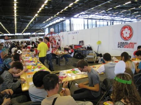 【Japan Expoレポート】武道、折り紙、風呂敷、茶道、水墨画etc...、ワークショップで日本文化を体験5