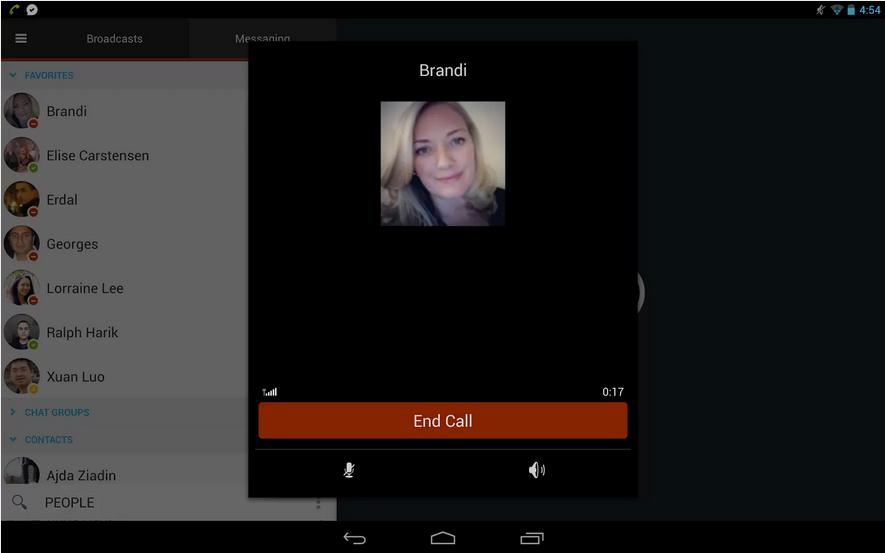 米メッセージングアプリ「imo」、ビデオチャット機能を提供開始