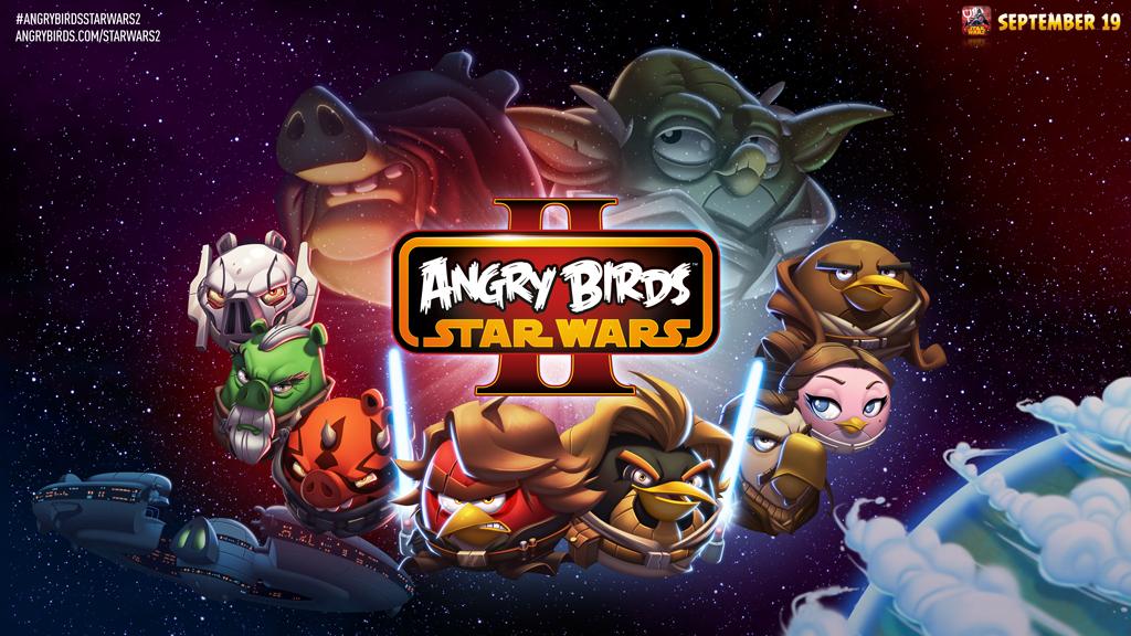 Angry Birdsとスター・ウォーズのコラボ再び! Rovio、9月に「Angry Birds Star Wars II」をリリース決定1
