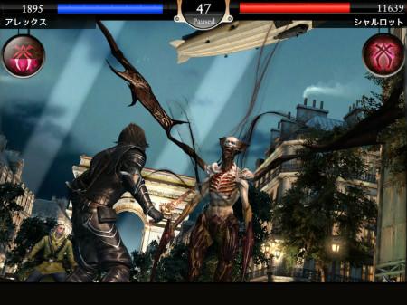 スクエニ、自分の顔写真を使ってキャラクターが作れるiOS向け新作アクションRPG「BLOODMASQUE」をリリース2